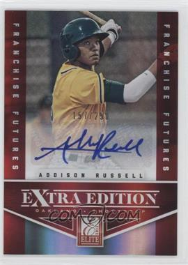 2012 Elite Extra Edition - [Base] - Franchise Futures Signatures [Autographed] #1 - Addison Russell /250