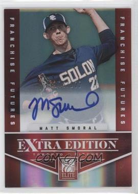 2012 Elite Extra Edition - [Base] - Franchise Futures Signatures [Autographed] #16 - Matt Smoral /222