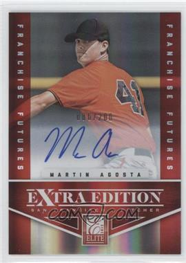 2012 Elite Extra Edition - [Base] - Franchise Futures Signatures [Autographed] #29 - Martin Agosta /200