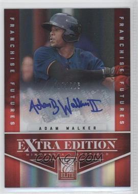 2012 Elite Extra Edition - [Base] - Franchise Futures Signatures [Autographed] #31 - Adam Walker /225
