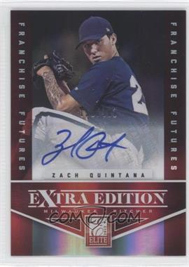 2012 Elite Extra Edition - [Base] - Franchise Futures Signatures [Autographed] #41 - Zach Quintana /381