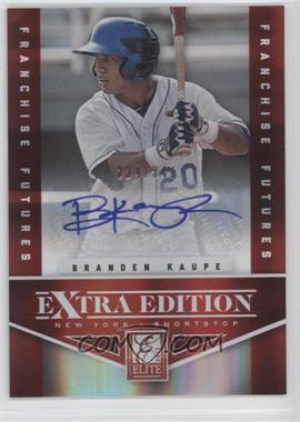 2012 Elite Extra Edition - [Base] - Franchise Futures Signatures [Autographed] #47 - Branden Kaupe /347
