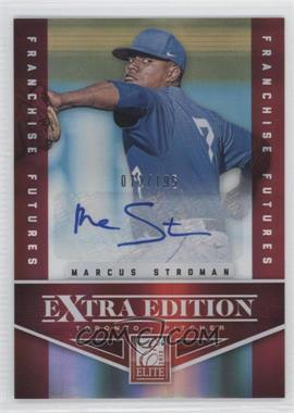2012 Elite Extra Edition - [Base] - Franchise Futures Signatures [Autographed] #5 - Marcus Stroman /195
