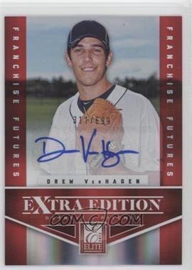 2012 Elite Extra Edition - [Base] - Franchise Futures Signatures [Autographed] #51 - Drew VerHagen /699