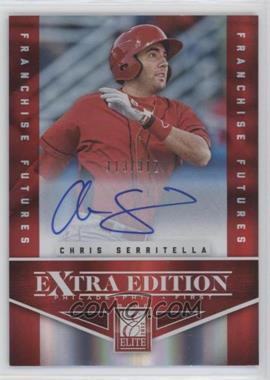 2012 Elite Extra Edition - [Base] - Franchise Futures Signatures [Autographed] #53 - Chris Serritella /312