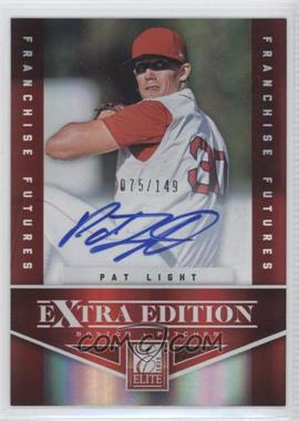 2012 Elite Extra Edition - [Base] - Franchise Futures Signatures [Autographed] #6 - Pat Light /149