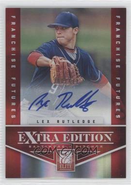 2012 Elite Extra Edition - [Base] - Franchise Futures Signatures [Autographed] #63 - Lex Rutledge /471