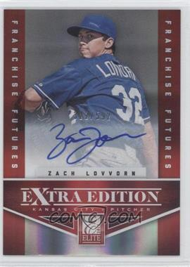 2012 Elite Extra Edition - [Base] - Franchise Futures Signatures [Autographed] #66 - Zach Lovvorn /592