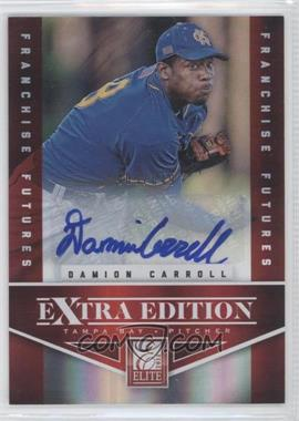 2012 Elite Extra Edition - [Base] - Franchise Futures Signatures [Autographed] #68 - Damion Carroll /649