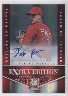 2012 Elite Extra Edition - [Base] - Franchise Futures Signatures [Autographed] #69 - Felipe Perez /799