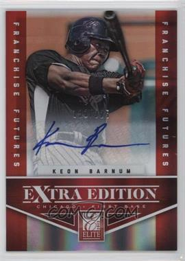 2012 Elite Extra Edition - [Base] - Franchise Futures Signatures [Autographed] #7 - Keon Barnum /225