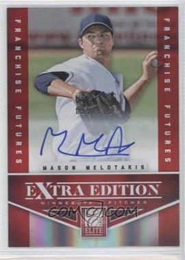 2012 Elite Extra Edition - [Base] - Franchise Futures Signatures [Autographed] #70 - Mason Melotakis /575