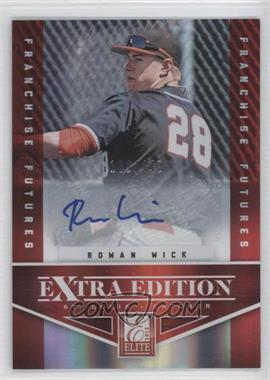 2012 Elite Extra Edition - [Base] - Franchise Futures Signatures [Autographed] #71 - Rowan Wick /442