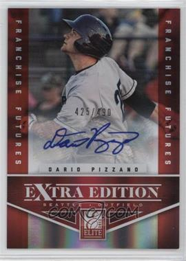 2012 Elite Extra Edition - [Base] - Franchise Futures Signatures [Autographed] #73 - Dario Pizzano /490