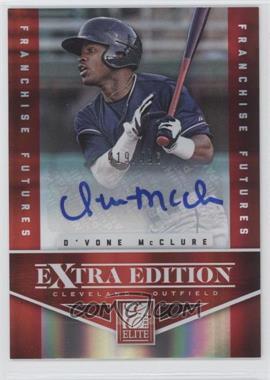 2012 Elite Extra Edition - [Base] - Franchise Futures Signatures [Autographed] #80 - D'Vone McClure /496