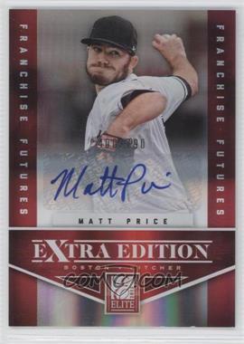2012 Elite Extra Edition - [Base] - Franchise Futures Signatures [Autographed] #81 - Matt Price /790