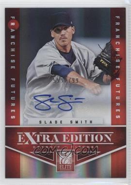 2012 Elite Extra Edition - [Base] - Franchise Futures Signatures [Autographed] #84 - Slade Smith /799