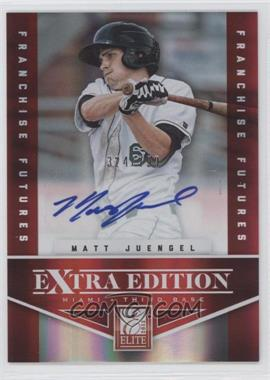 2012 Elite Extra Edition - [Base] - Franchise Futures Signatures [Autographed] #85 - Matt Juengel /799