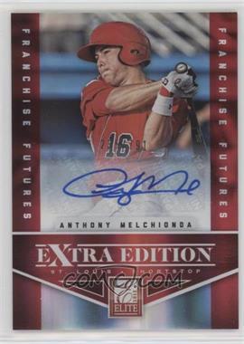 2012 Elite Extra Edition - [Base] - Franchise Futures Signatures [Autographed] #87 - Anthony Melchionda /791