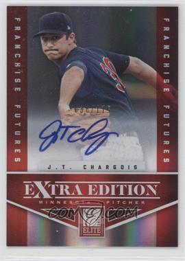 2012 Elite Extra Edition - [Base] - Franchise Futures Signatures [Autographed] #89 - J.T. Chargois /175