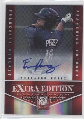 2012 Elite Extra Edition - [Base] - Franchise Futures Signatures [Autographed] #90 - Fernando Perez /692