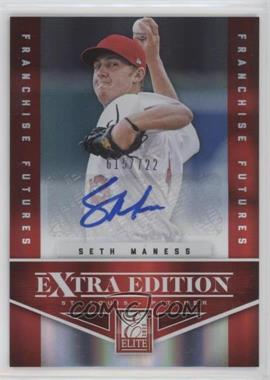2012 Elite Extra Edition - [Base] - Franchise Futures Signatures [Autographed] #94 - Seth Maness /722