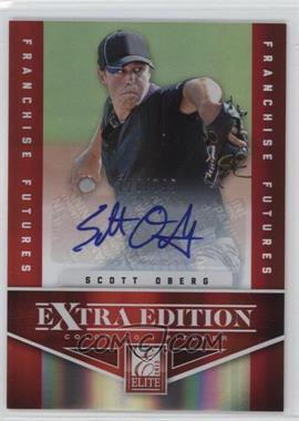 2012 Elite Extra Edition - [Base] - Franchise Futures Signatures [Autographed] #96 - Scott Oberg /799