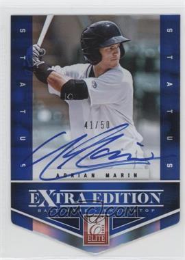 2012 Elite Extra Edition - [Base] - Status Blue Die-Cut Signatures #200 - Adrian Marin /50