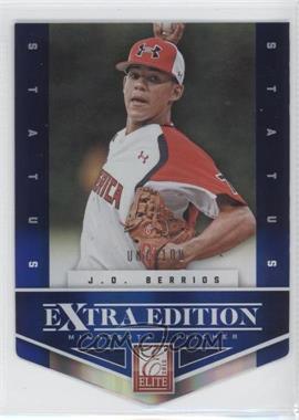 2012 Elite Extra Edition - [Base] - Status Blue Die-Cut #88 - J.O. Berrios /100