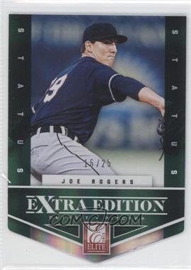 2012 Elite Extra Edition - [Base] - Status Emerald Die-Cut #188 - Joe Rogers /25