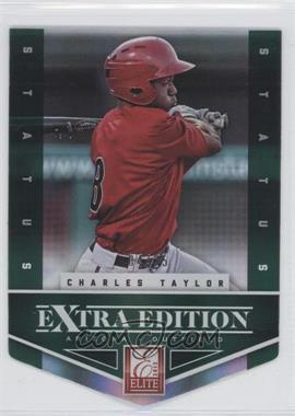 2012 Elite Extra Edition - [Base] - Status Emerald Die-Cut #50 - Charles Taylor /25