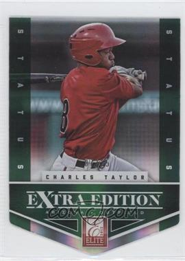 2012 Elite Extra Edition - [Base] - Status Emerald Die-Cut #50 - Charles Taylor /25