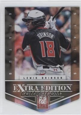 2012 Elite Extra Edition - [Base] - Status Gold Die-Cut #118 - Lewis Brinson /5