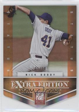 2012 Elite Extra Edition - [Base] - Status Orange Die-Cut #135 - Nick Goody /10