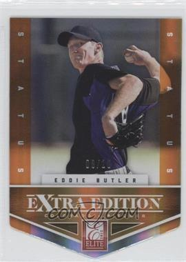 2012 Elite Extra Edition - [Base] - Status Orange Die-Cut #19 - Eddie Butler /10
