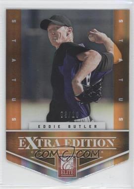 2012 Elite Extra Edition - [Base] - Status Orange Die-Cut #19 - Eddie Butler /10