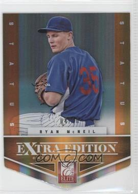 2012 Elite Extra Edition - [Base] - Status Orange Die-Cut #33 - Ryan McNeil /10