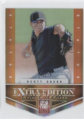 2012 Elite Extra Edition - [Base] - Status Orange Die-Cut #96 - Scott Oberg /10