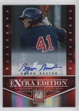 2012 Elite Extra Edition - [Base] #102 - Byron buxton /599