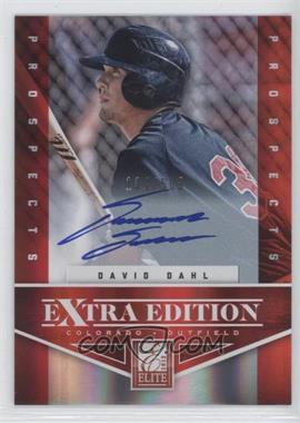 2012 Elite Extra Edition - [Base] #107 - David Dahl /509
