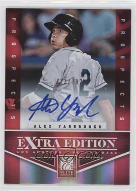 2012 Elite Extra Edition - [Base] #133 - Alex Yarbrough /782