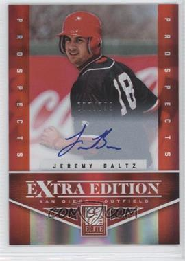2012 Elite Extra Edition - [Base] #156 - Jeremy Baltz /799