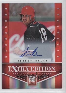 2012 Elite Extra Edition - [Base] #156 - Jeremy Baltz /799