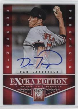 2012 Elite Extra Edition - [Base] #173 - Dan Langfield /799