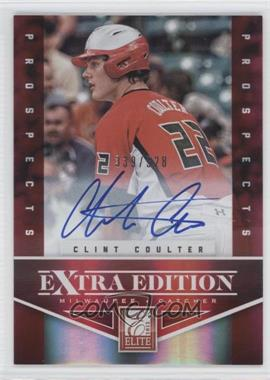 2012 Elite Extra Edition - [Base] #187 - Clint Coulter /528