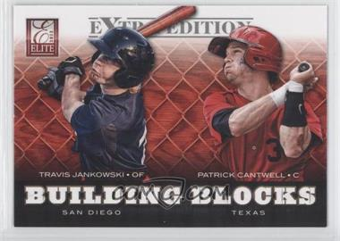2012 Elite Extra Edition - Building Blocks Dual #13 - Patrick Cantwell, Travis Jankowski