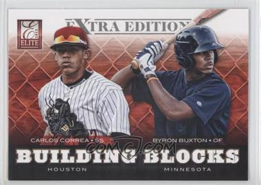 2012 Elite Extra Edition - Building Blocks Dual #15 - Byron Buxton, Carlos Correa