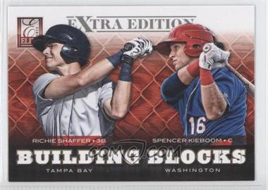 2012 Elite Extra Edition - Building Blocks Dual #16 - Richie Shaffer, Spencer Kieboom