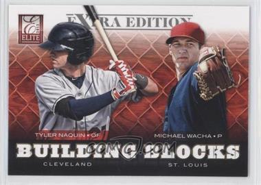 2012 Elite Extra Edition - Building Blocks Dual #2 - Michael Wacha, Tyler Naquin