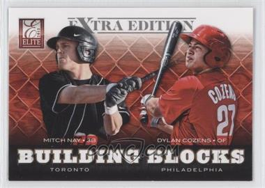 2012 Elite Extra Edition - Building Blocks Dual #20 - Dylan Cozens, Mitch Nay